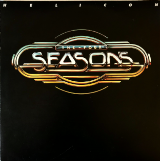 Four Seasons (The) ‎- Helicon (LP) (EX/VG)